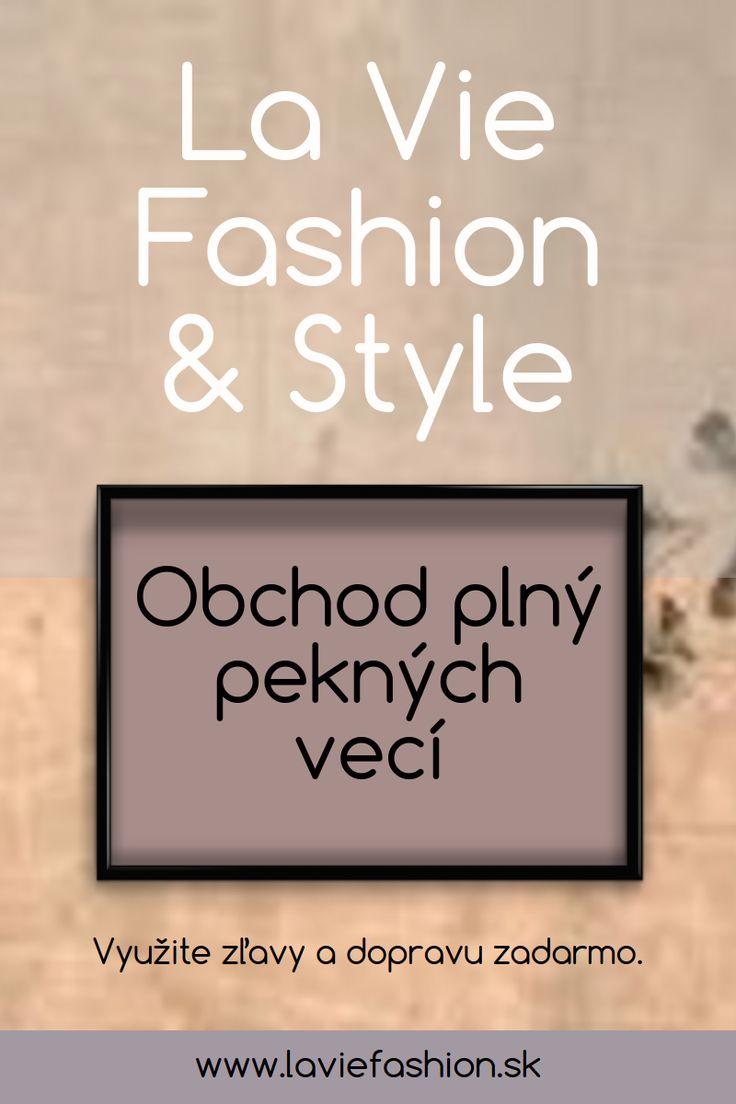 Trendy a štýlové oblečenie.