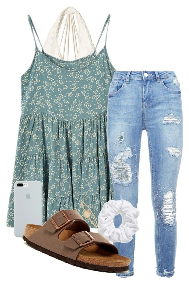 """i'm sad bc my volleyball game was canceled :("" by samanthars ❤ liked on Polyvore featuring Hollister Co., Natasha, ETUÍ, Birkenstock and Marc by Marc Jacobs"