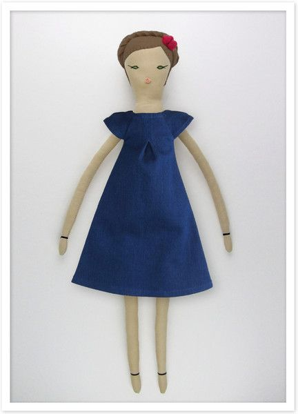 Our daughter has two of these Dumye dolls and loves them.  Personalize TENDER HEART Doll from Dumyé @dumyedolls #dumye