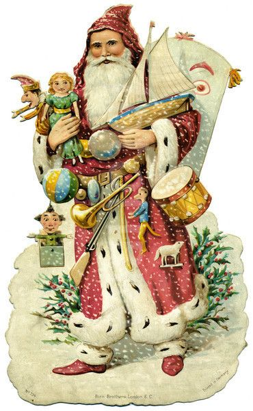 Gallery For > Victorian Santa Claus                                                                                                                                                                                 More