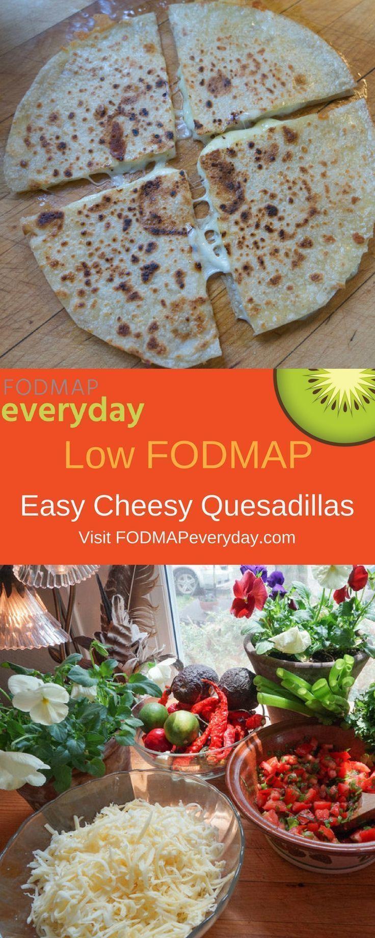 can i eat quesadillas on lo fodmap diet