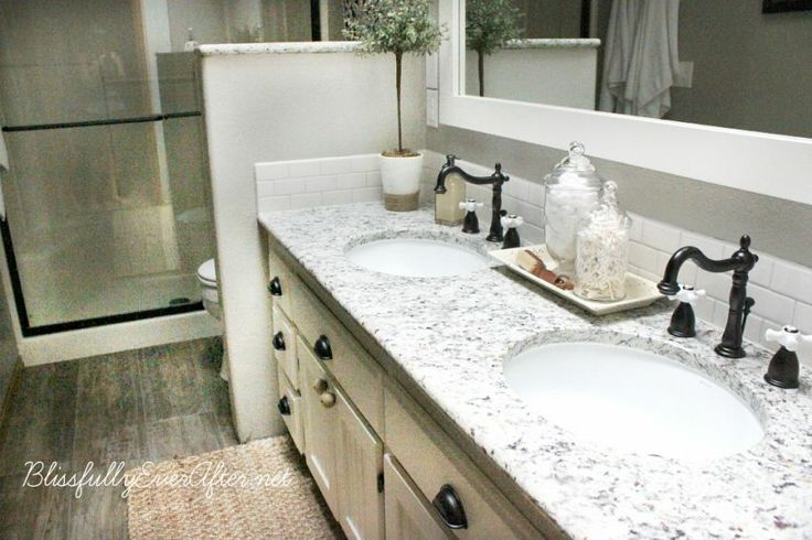 Diy Farmhouse Master Bathroom Makeover Master Bathrooms