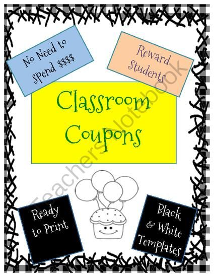 FREE Classroom Reward Coupons from Fun and Fancy Free in First Grade on TeachersNotebook.com -  (4 pages)  - Classroom reward coupons.