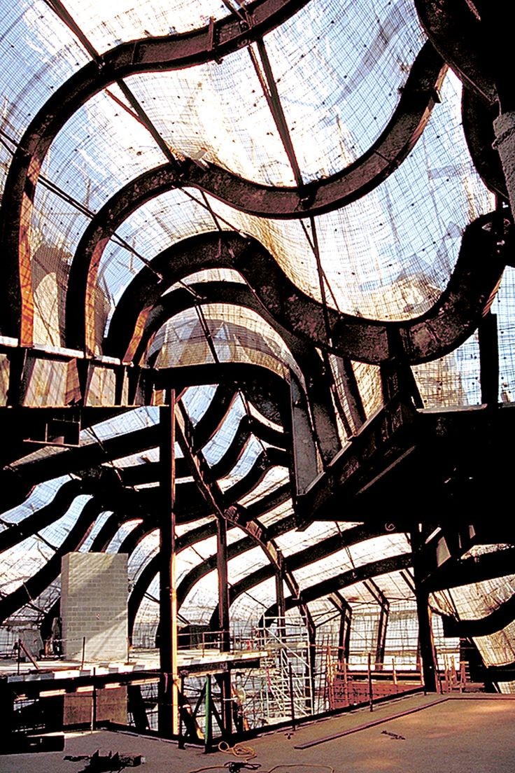Experience Music Project (EMP by Gehry Partners) Structural System