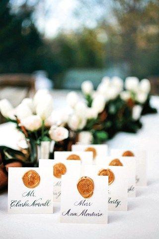 Wax Seal Decorations (BridesMagazine.co.uk)