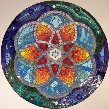 Mosaiquismo - Mandalas en mosaico para decorar y energizar el hogar | Decorar tu casa es facilisimo.com