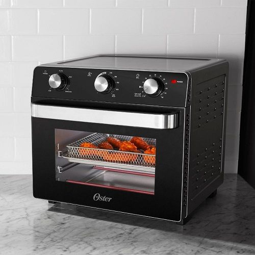 Oster Air Fryer Toaster Oven Black Tssttvmaf1 Cool Things To Buy Kitchen Sale Toaster