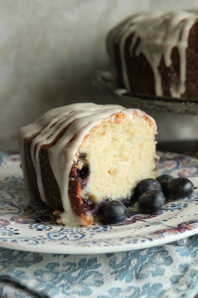 The Best Coffee Blueberry Cake