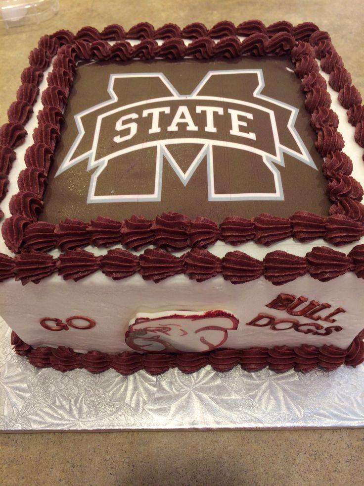 mississippi state cake ideas
