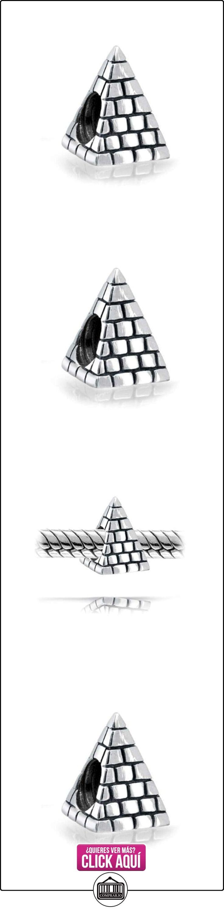 Bling Jewelry Plata Esterlina Pirámide Egipcia Cordón Encanto  ✿ Joyas para mujer - Las mejores ofertas ✿ ▬► Ver oferta: http://comprar.io/goto/B007C86ODK