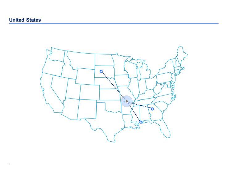 15 best Editable US Maps in Powerpoint | Slidebooks.com images on ...