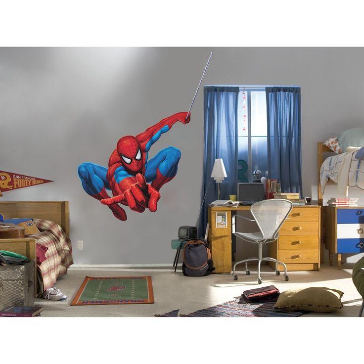 Top  Best Spiderman Wall Decals Ideas On Pinterest Batman - Superhero wall decals target