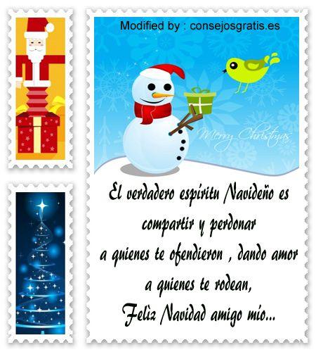 carta para enviar en Navidad,descargar mensajes para enviar en Navidad: http://www.consejosgratis.es/frases-lindas-para-tarjetas-navidenas/