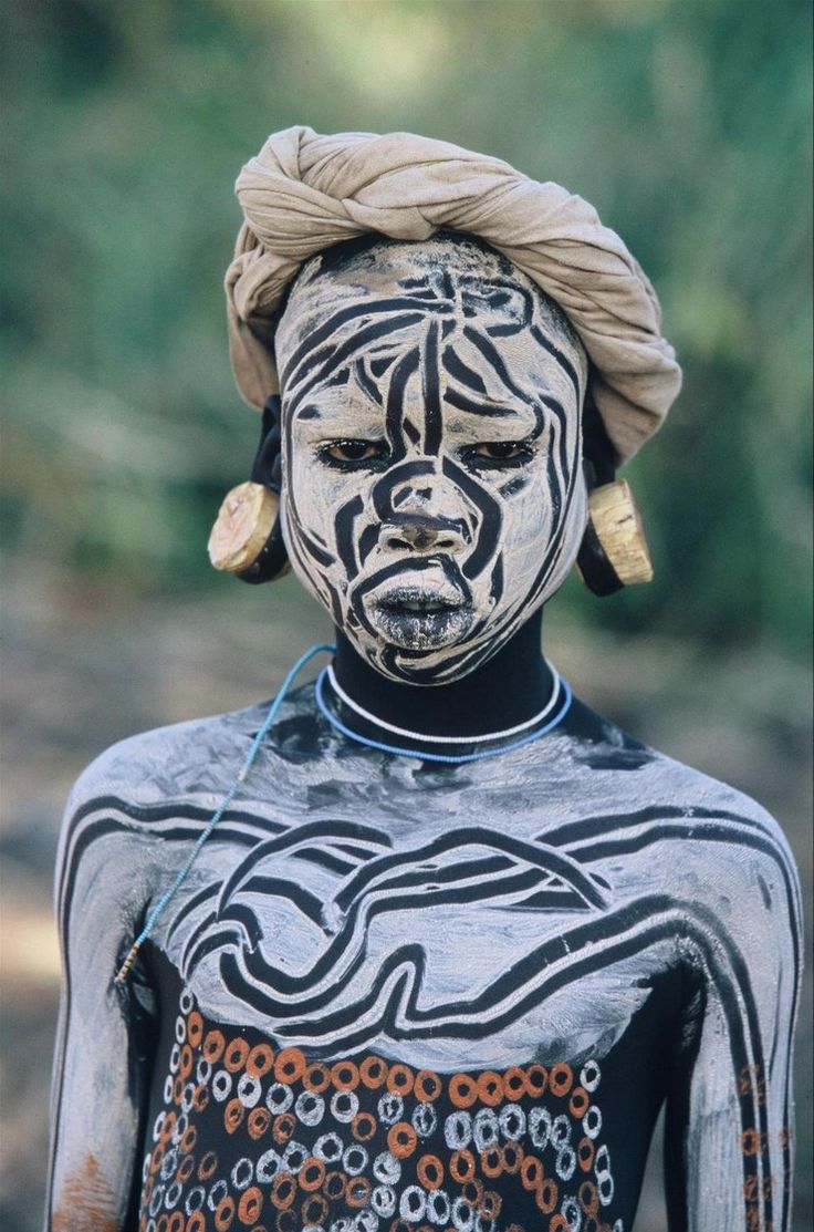 Best Body Paintings From World S Tribes Africa People