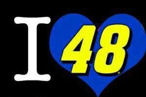 """ I ❤ #48 Jimmie Johnson Wallpaper """