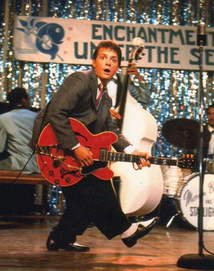 Michael J. Fox, Regreso al Futuro, 1985