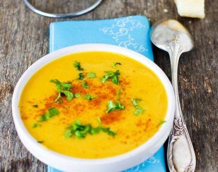 *Testée* Bonne soupe d'hiver : patates douces, carottes, lait de coco et coriandre