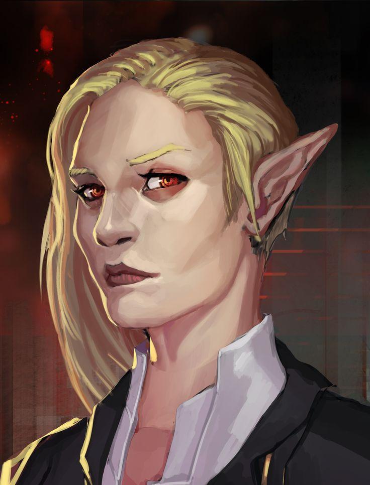 female elf, shadowrun