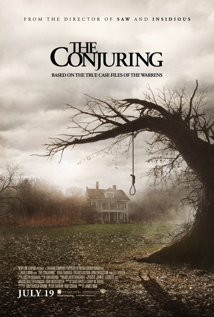 The Conjuring (2013)  Horror    7.6/10   Paranormal investigators Ed and Lorraine Warren work to help a family terrorized by a dark presence...