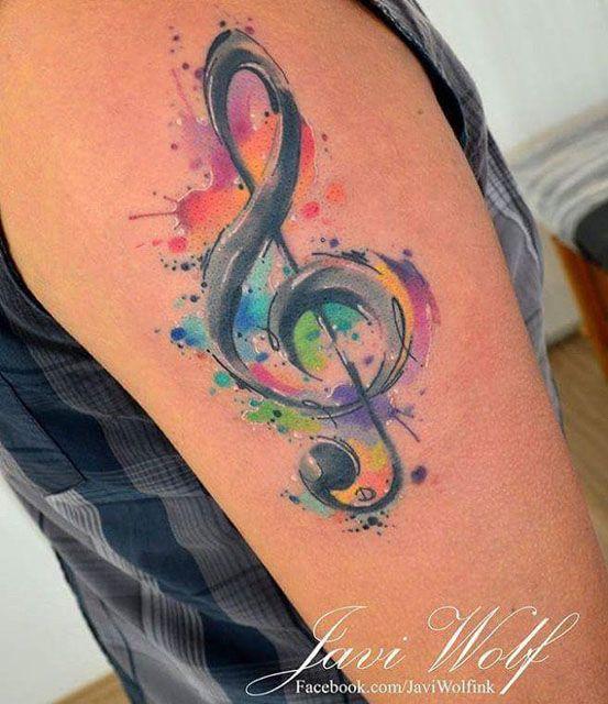 Treble Clef Tattoo Body Art Music Tattoos Music Tattoo Designs