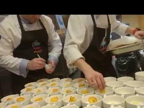 Live Cooking, Top Chef Patryk Dziamski  - ślimaki, kawior biały