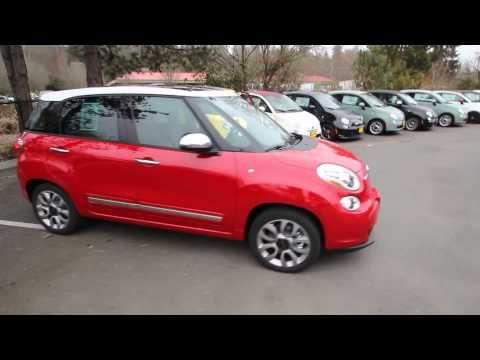 2014 Fiat 500 L Lounge   Red   EZ012590   Redmond   Seattle