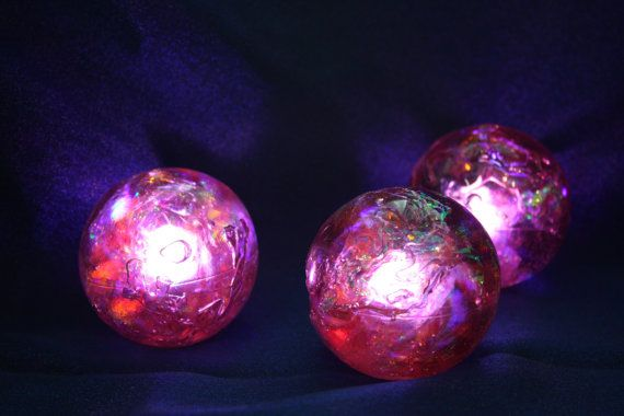 Final Fantasy 7 VII Red Summon Materia crystal electronic light up cosplay prop rave on Etsy, $20.00