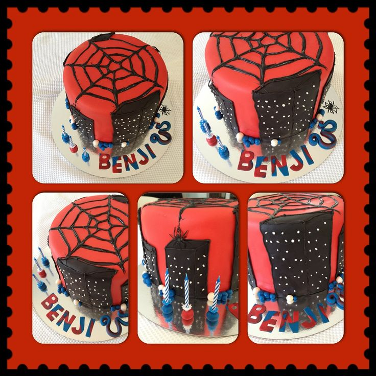 Spiderman double stacked chocolate stacked on vanilla butter cake to satisfy both tastes. Moist and delicious covered with Marshmallow Fondant. Top it with Spider-Man climbing wall candle and it looks awesome.