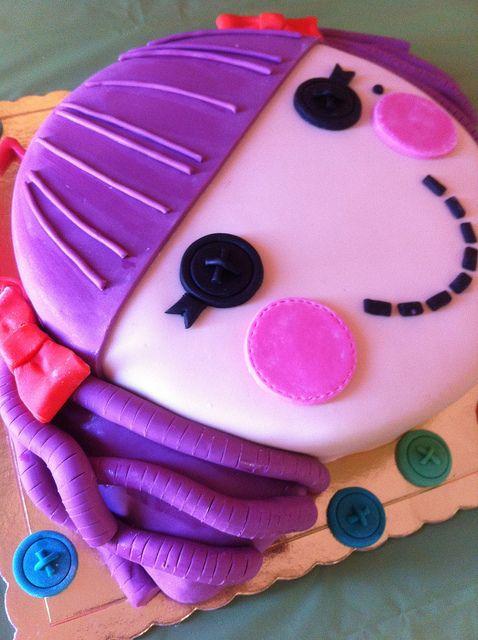 Lalaloopsy cake! by Jasmine cakes, via Flickr