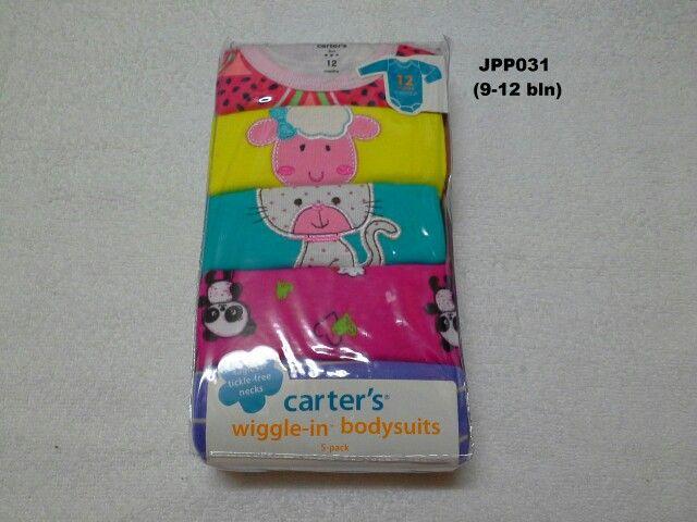 #Baju Jumper Carter Lgn Panjang (JPP031) ~ 105ribu/pak (isi 5pc) ~ Ukuran : 12M. Untuk umur : 9-12 bln. Panjang badan bayi 72-78cm (9-11kg)