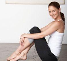 Cours de yoga avec Mme Sarah Wayne Callies