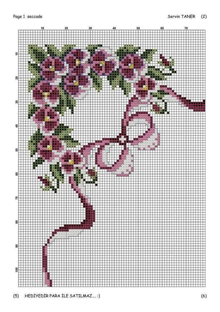 Violets corner chart