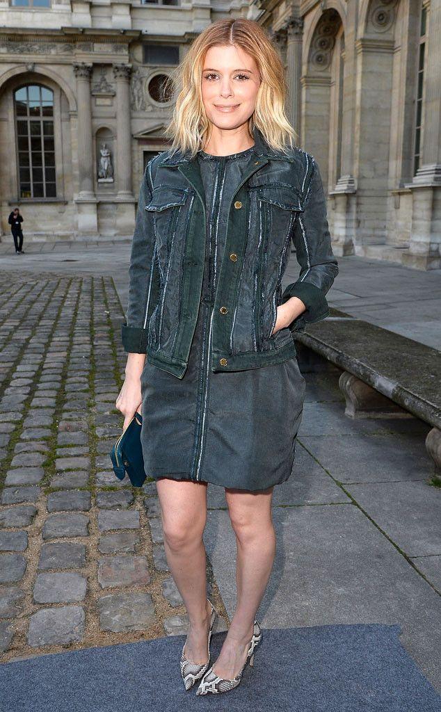 #celebrities at Paris fall fashion week 2014. Kate Mara.