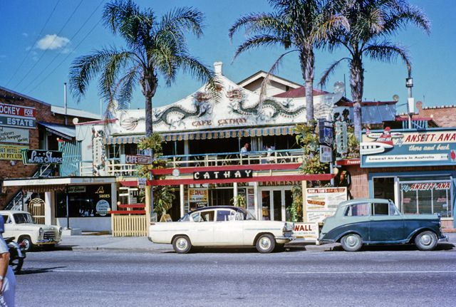 cafe cathay, surfers paradise, 1960