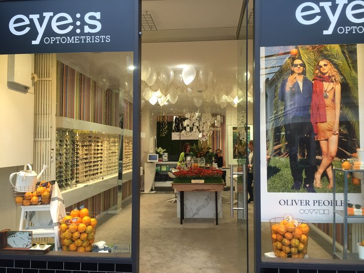Oliver Peoples on show at our Richmond store