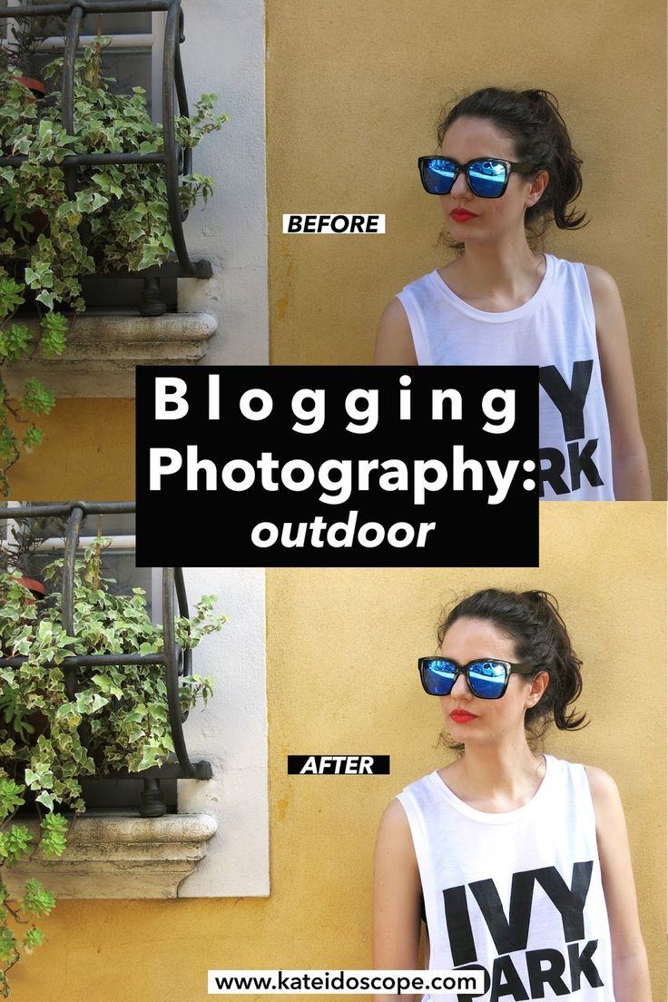 BLOG | Blogging Photography: Shooting Outdoor