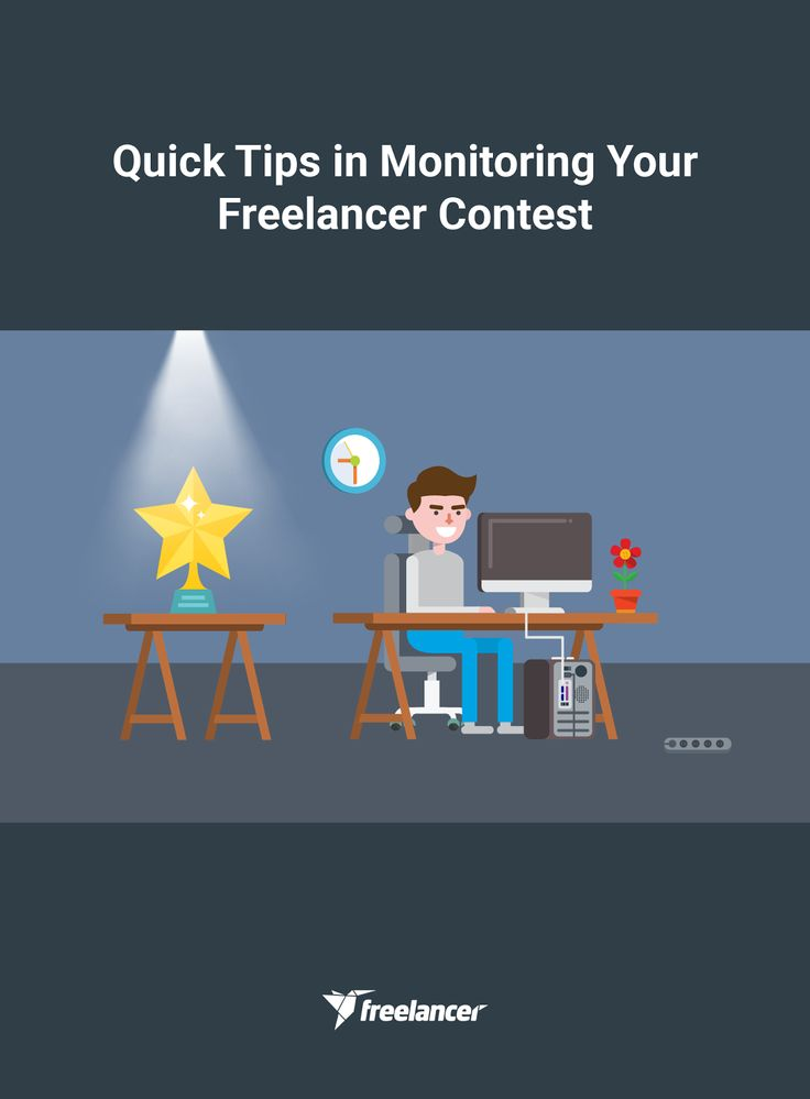 Quick Tips in Monitoring Your Freelancer Contest #freelancer #freelancing #onlinejobs #work #startups #business