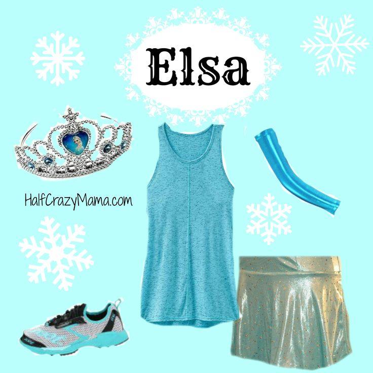 Easy Disney Running Costumes | Half Crazy Mama
