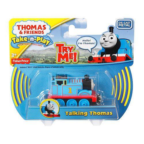Thomas & Friends Take-n-Play Die Cast Talking Thomas Engine New/Sealed!! CFR92 #FisherPrice