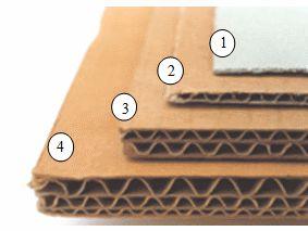 Les différents types de carton