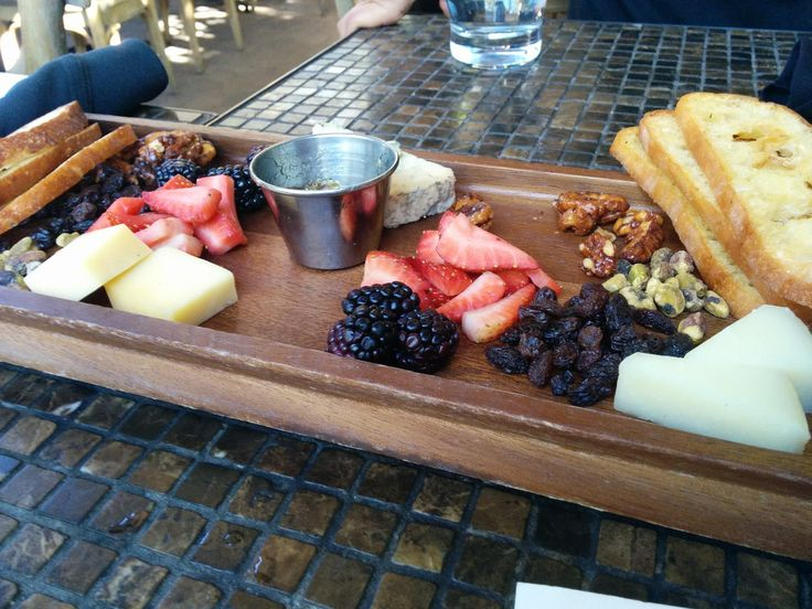Cheese Plate At The Patio On Lamont