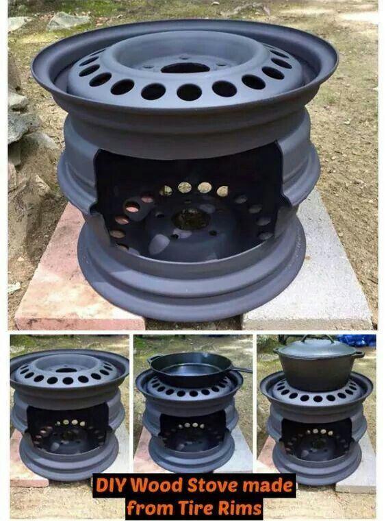 Diy stove