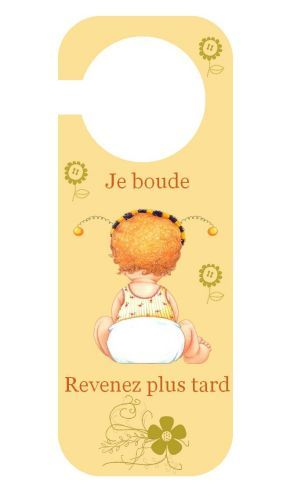 65 best plaque de porte images on pinterest room child for Plaque pour porte de chambre