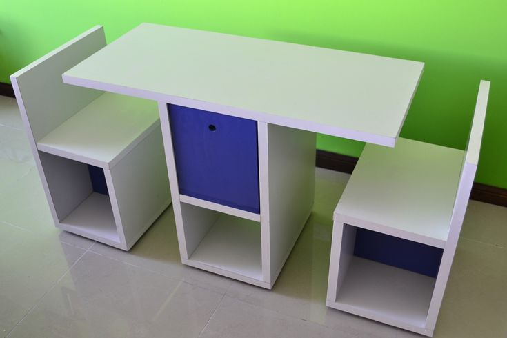 MESA CON SILLAS DE - Niños y Bebés - Muebles Artesanales - 513018