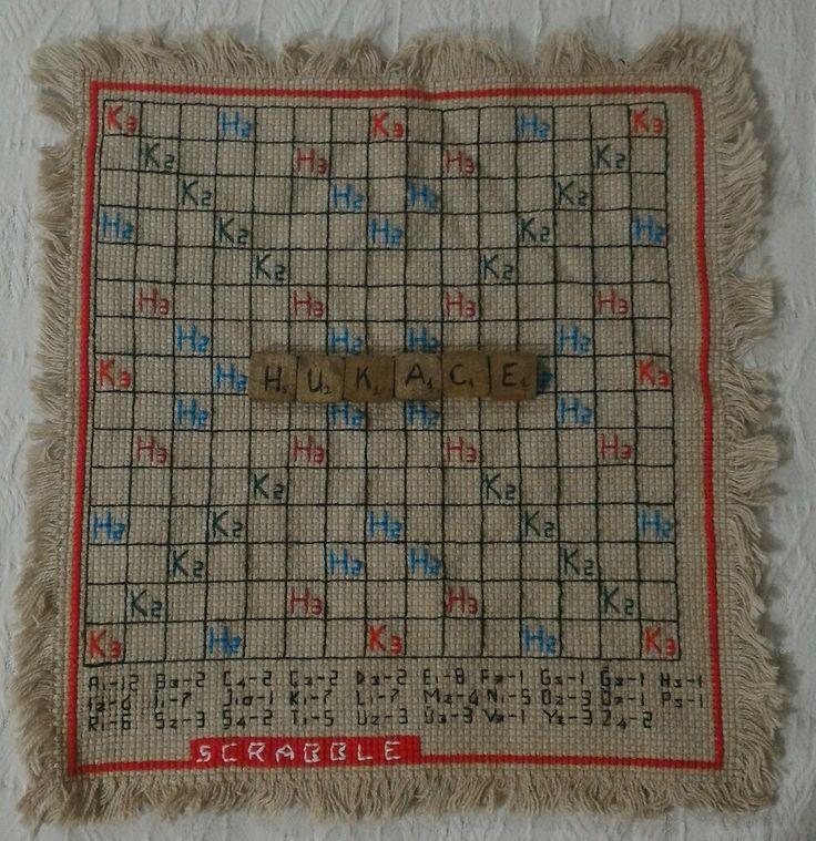 #Scrabble #crossstitch #handmade #diy #crossstitching #pointdecroix #puntodecruz #etamin #kanavice #carpiisi
