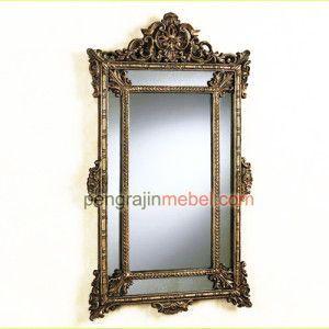 Cermin Jati, cermin-hias-minimalis-murah, Desain Interior, furniture jepara
