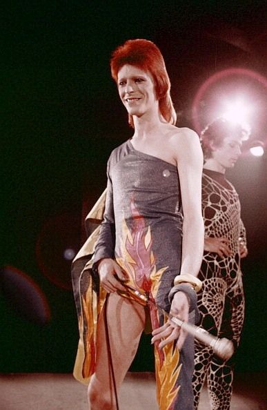 David Bowie performing in 'The 1980 Floor Show'