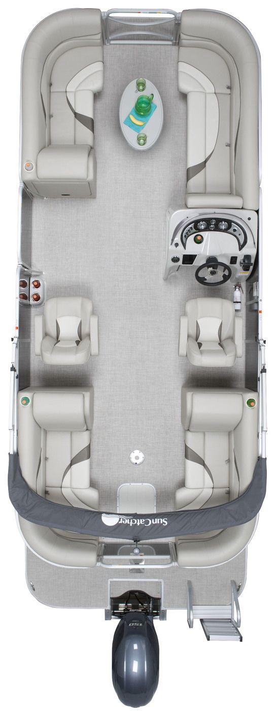 V Series Pontoon Boats | SunCatcher Pontoons by G3 Boats
