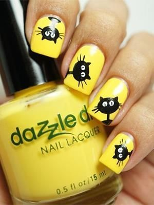 Get everything funny now! Why not wear a funny bun and polish funny nails for outgoing in the spring? If you don't know how to print the funny nails, you can just follow today's post. The post will introduce enough funny nail arts to you. They are funny characters from films, fruit images and other …