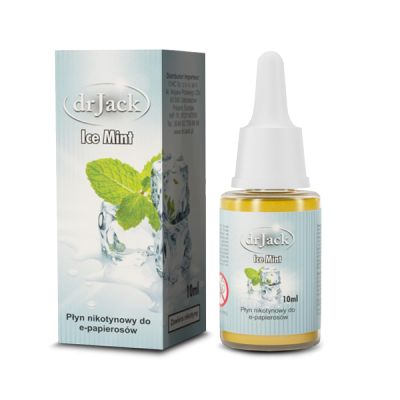 Liquid dr Jack 10 ml - Ice Mint Zapal-E